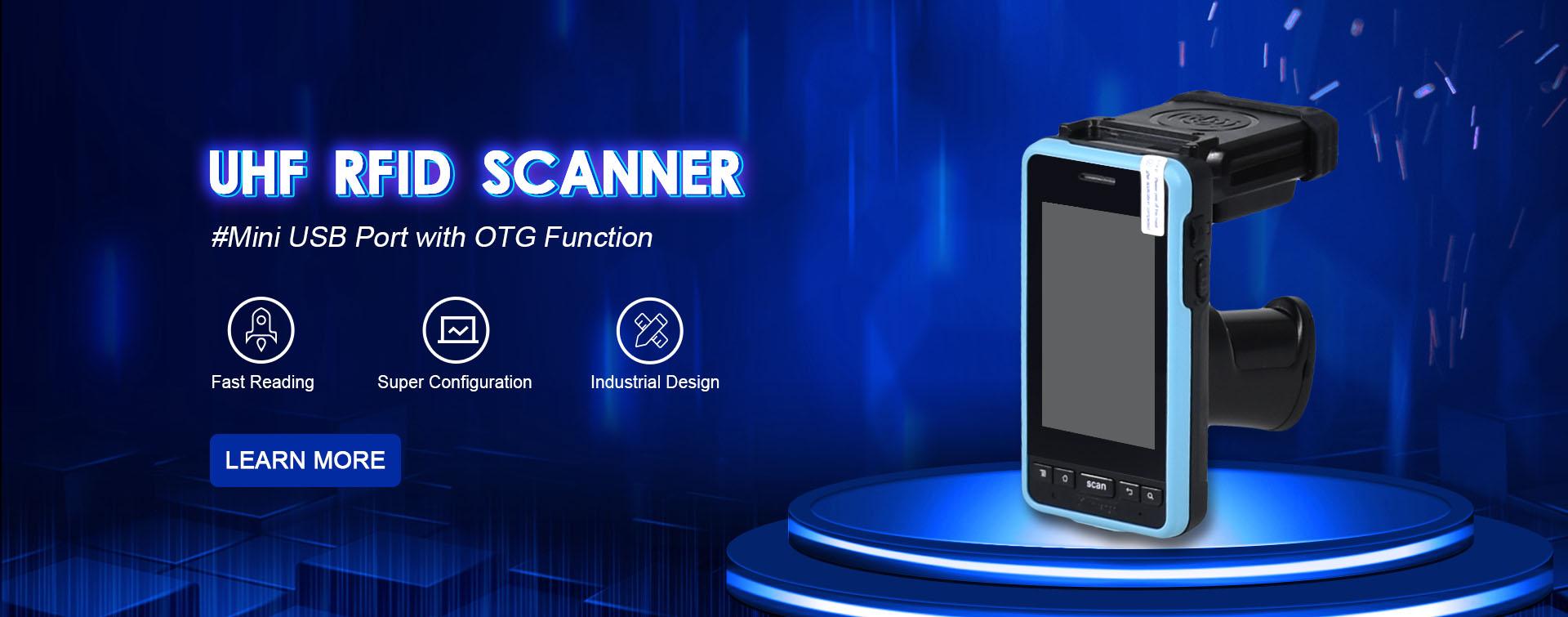 SM2910-A Bluetooth Barcode Scanner WIFI RFID Reader
