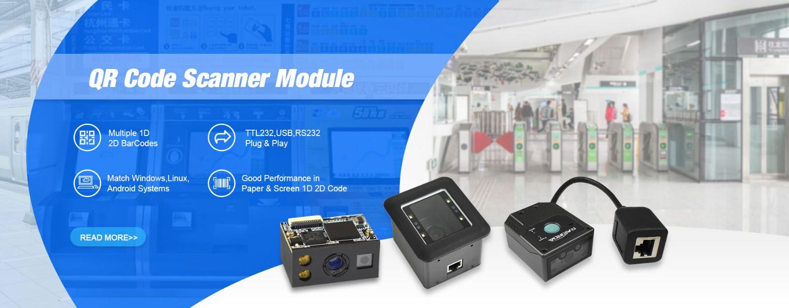 Barcode Scanner Module