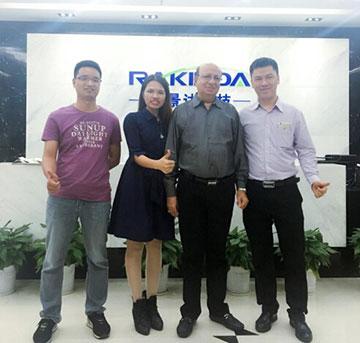 India customer Ahuja Tablet big project by using Rakinda readers