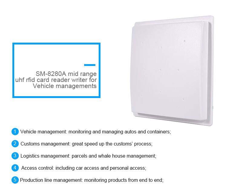 SM-8280A Middle Range UHF RFID Reader