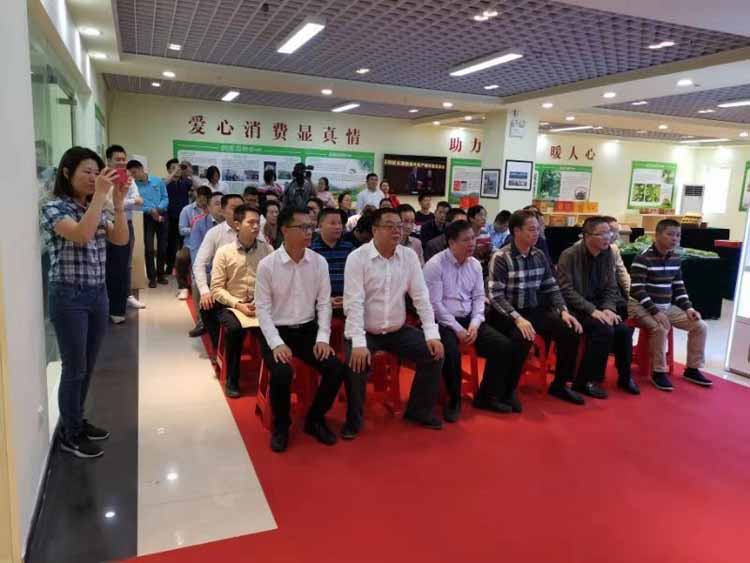 Yantian Counterpart to Help Dongyuan Poverty Relief Products Exhibition Center Unveiling Ceremony