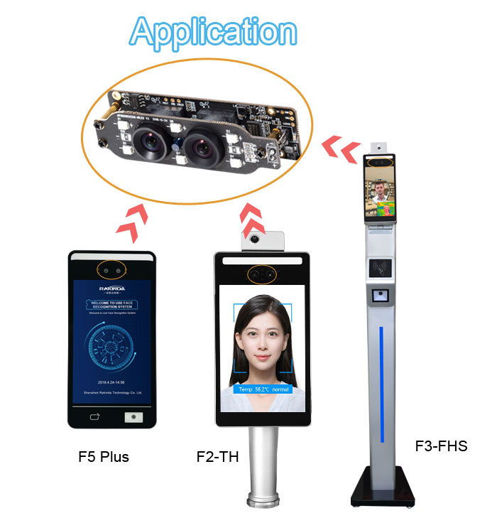 RD34 Infrared Face Recognition Camera Module