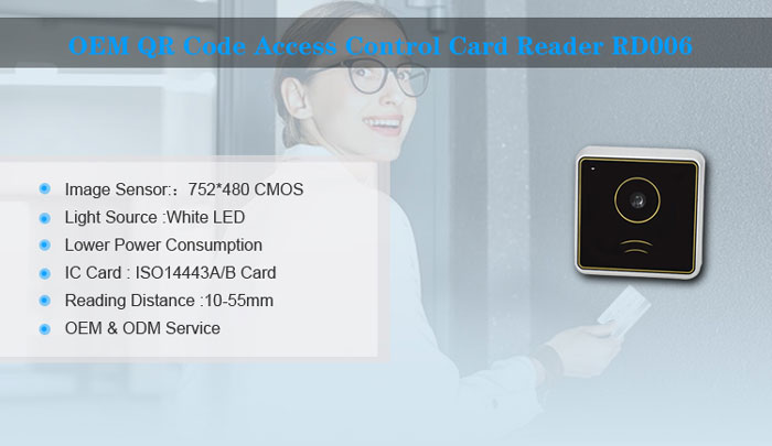 RD006 RFID QR Access Contro System