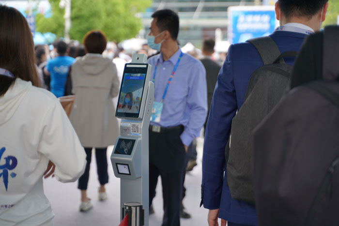 Scanmax Facial Recognition and Temperature Measure Terminals Provide Safety Guarantee for The Fourth Digital China Summit
