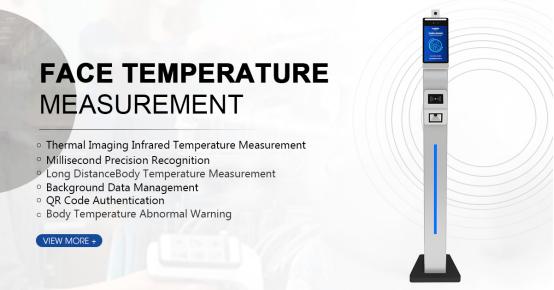 Temperature Measurement Face Recognition F2-FHS Applications in Campus Scenes