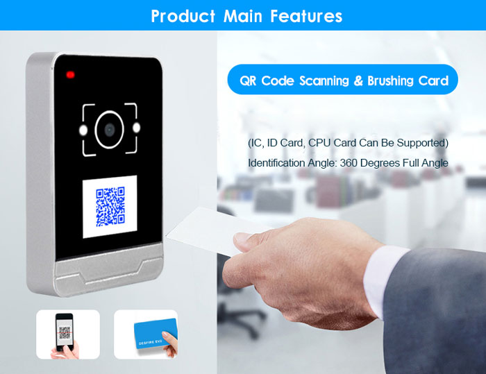RD009 4G  IC Card Password Access Control Reader