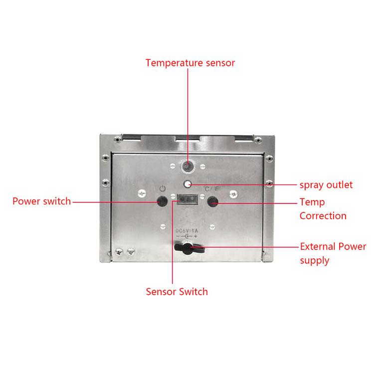TF88 Automatic Temperature Measurement Soap Liquid Dispenser