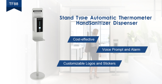 SCANMAX Automatic Anti-epidemic: Temperature Measurement with Disinfection Kiosk TF88
