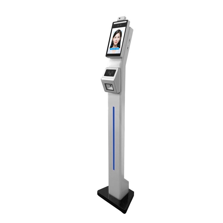 F2-FHS Face Recognition Thermometer Machine with QR Code
