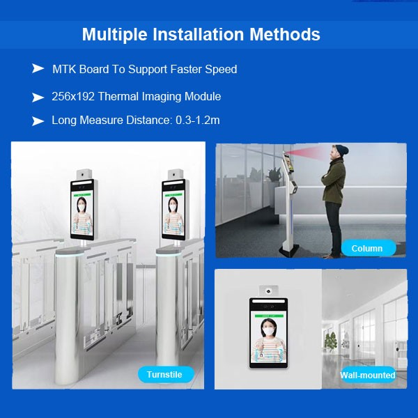Guangzhou Face Recognition Access & Epidemic Prevention
